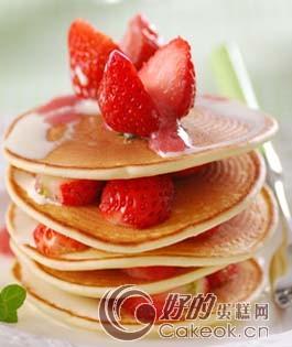 草莓鬆餅製作方法